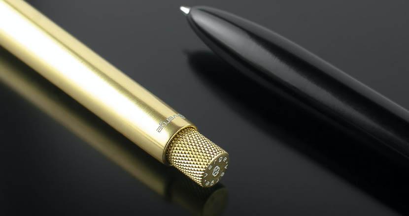 1本持っておきたいボールペン「SENS PEN」。ミニマルデザインと万年筆の書き心地で満たされる所有欲