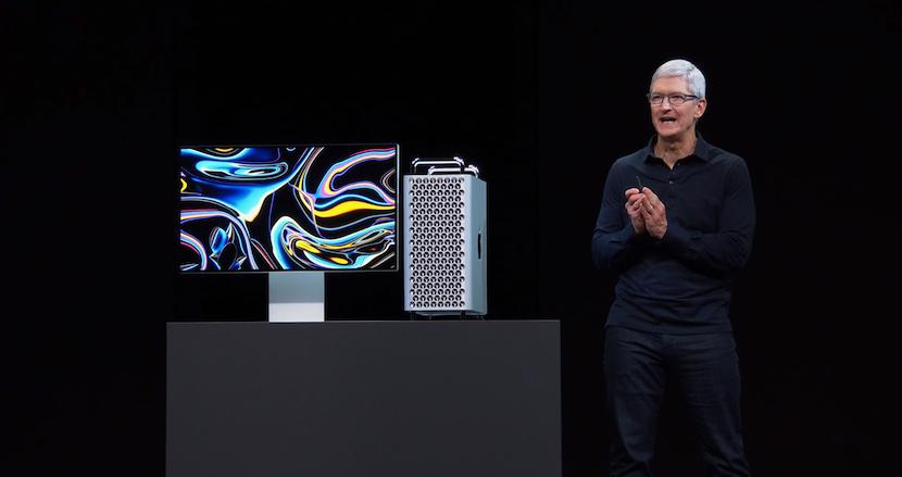 Mac史上最高のパフォーマンスを発揮する「新型Mac Pro」が登場。8K映像を3本同時再生可能な最大28コアIntel Xeonという驚異的スペック。32インチRetina6Kの新ディスプレイも