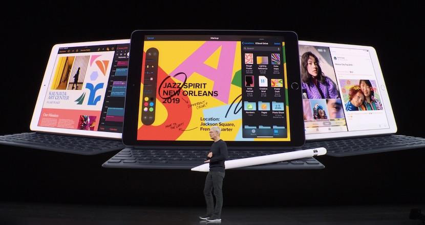 ベーシックiPadの新型は10.2インチ画面でSmart Keyboard対応。「Apple Arcade」は9月19日、「Apple TV+」は11月1日スタート。