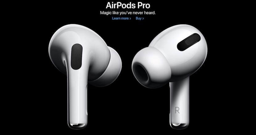 アクティブノイズキャンセリング対応のApple純正ワイヤレスイヤフォン「AirPods Pro」が登場。耐汗耐水性能も新たに備える