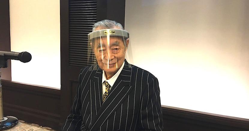 ドクター・中松謹製の最強マスク「SUPER M.E.N.」の新型が緊急リリース!「都市封鎖」の次は「地球封鎖」? 記者会見で本人を直撃してきた
