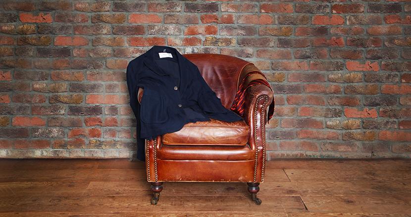 この秋買い足すべきは、マスターテーラー仕立ての上質ニットジャケット。オン&オフ両用でニューノーマルに対応