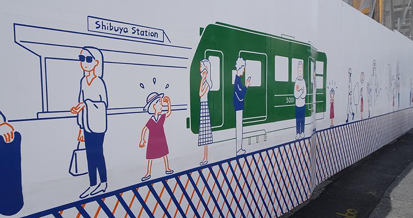 「渋谷の巨大アート」が制作1年後に突如大注目。仕掛け人のNPO、365ブンノイチが考える、社会貢献としてのストリートアートとは
