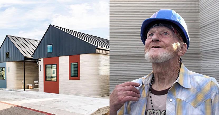 「死ぬまでここにいたい」元ホームレスの男性、3Dプリンターで作られた家に住む最初の人になる