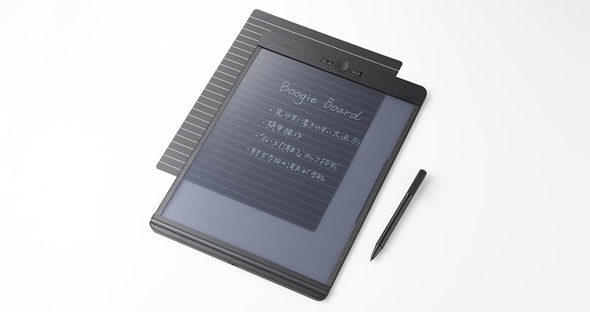 シリーズ初の半透明液晶を搭載した電子メモパッド「Boogie Board BB-11」