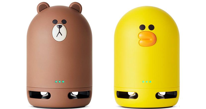 かわいいスマートスピーカー「Clova Frends」にさらにかわいい「Clova Friends mini」登場