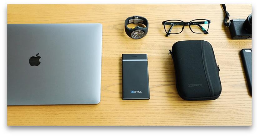 ワイヤレス充電&5Gストリーミング機能搭載のワイヤレスモバイルドライブ「GOSPACE」