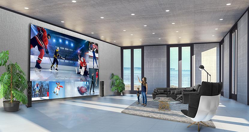 もはや壁。LG、325インチの8Kテレビを発売。価格は1億9000万円相当
