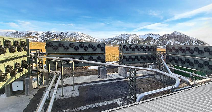 大気中から二酸化炭素を直接吸収する世界最大の施設がアイスランドで稼働開始。地球温暖化対策の「最後の切り札」に