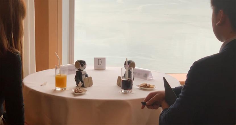 【動画アリ】ロボットが婚活パーティの会話を代行!?口下手な人でも異性とカップル成立できるようになるかも