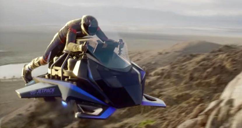 未来がついに到来! ジェットエンジン搭載の空飛ぶバイク「Speeder」の予約販売がスタート
