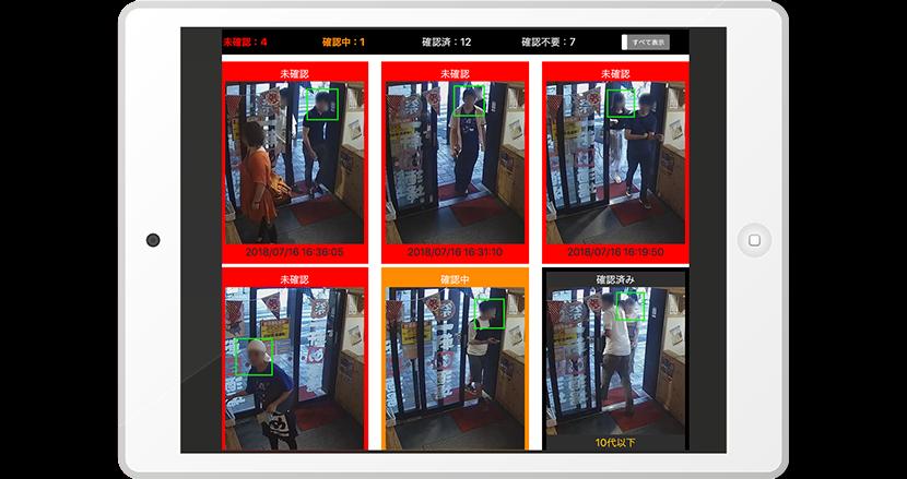 AIカメラが、居酒屋に入店する未成年を識別!検知率は驚異の96.1%