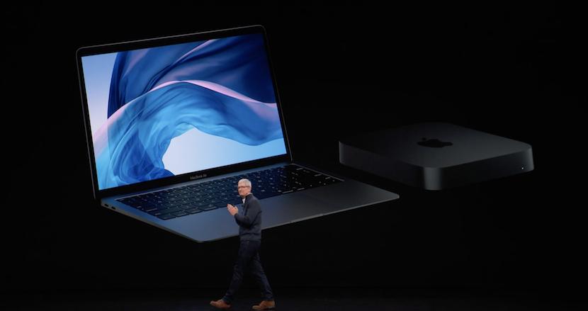 待望のRetinaディスプレイを搭載した新型「MacBook Air」登場。新型「Mac mini」は第8世代のIntelプロセッサを搭載し最大5倍高速に【「Apple Special Event」速報(1)】