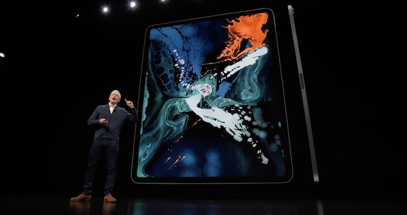新型iPad Proがとにかくヤバい。フルスクリーンのボディに92%のポータブルPCより高速なチップを搭載、フルスペックのPhotoshopも軽快に【Apple Special Event」速報(2)】