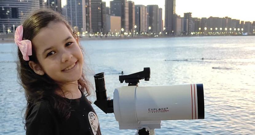 ブラジルの8歳少女は天文学者。18個の小惑星を発見し、世界最年少記録更新か