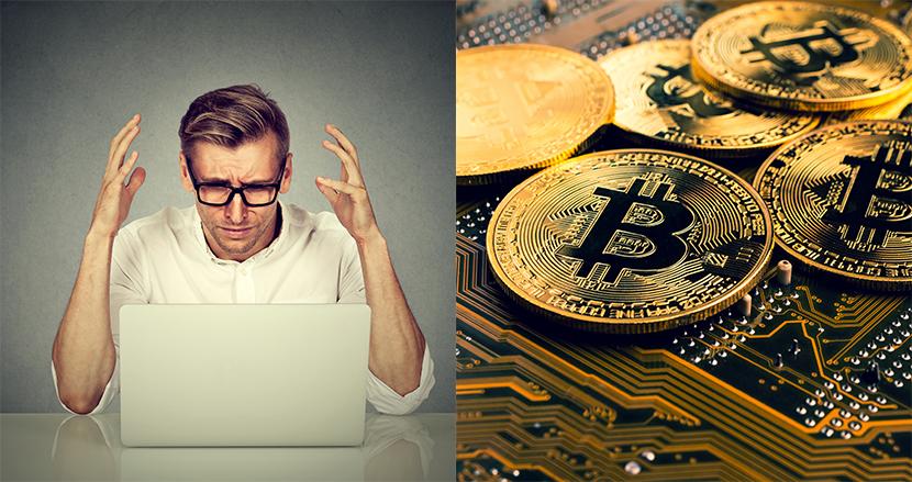 パスワードが思い出せず、400億円相当のビットコインが引き出せない男性が話題に
