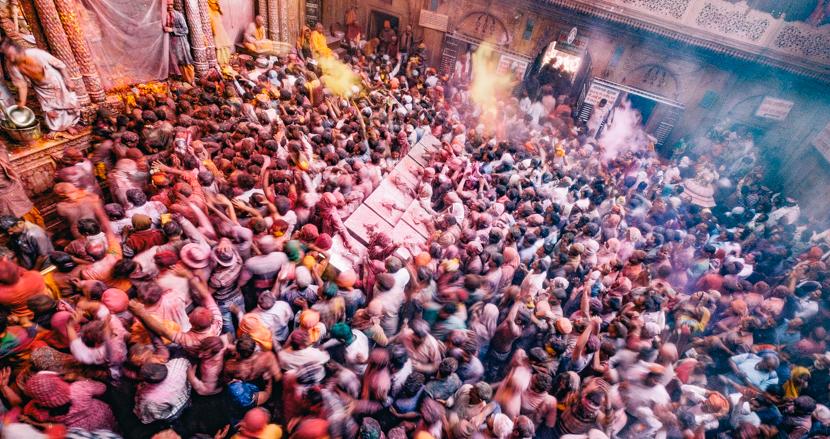 インドで最も熱狂的なホーリーを求めて聖地ブリンダーバンへ【連載】世界の都市をパチリ (15)