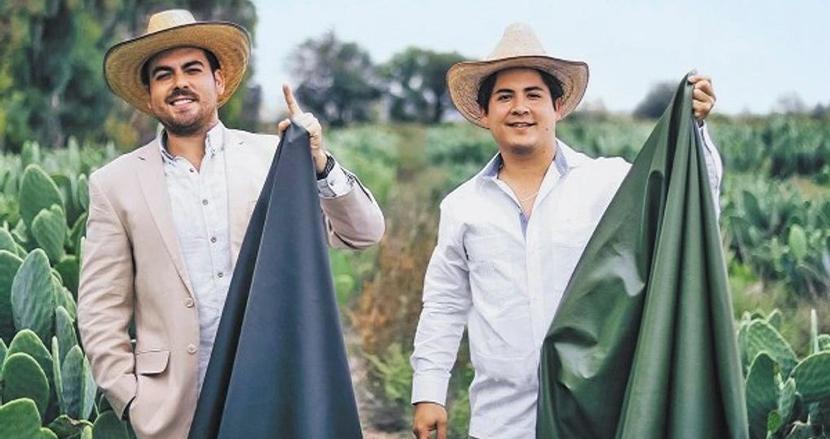 まるで本革!サボテンの葉から作られた地球にやさしいレザー、メキシコの起業家2人が開発