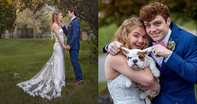 希少がんを患った余命わずかの18歳男性、ガールフレンドと結婚。若いカップルの感動的な結婚式に祝福の声続々