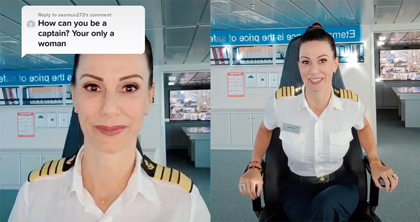 「女のくせにどうやって船長に?」性差別コメントに大型客船の女性船長が秀逸な返答!世界中から大絶賛の嵐