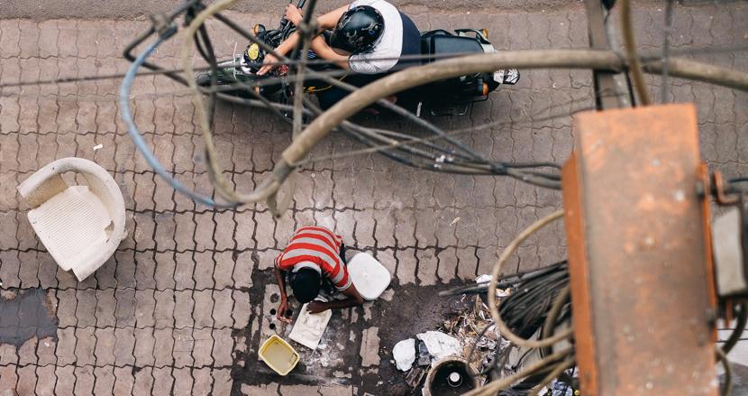 7年前と変わったニューデリー、変わらぬバザール【連載】世界の都市をパチリ (13)
