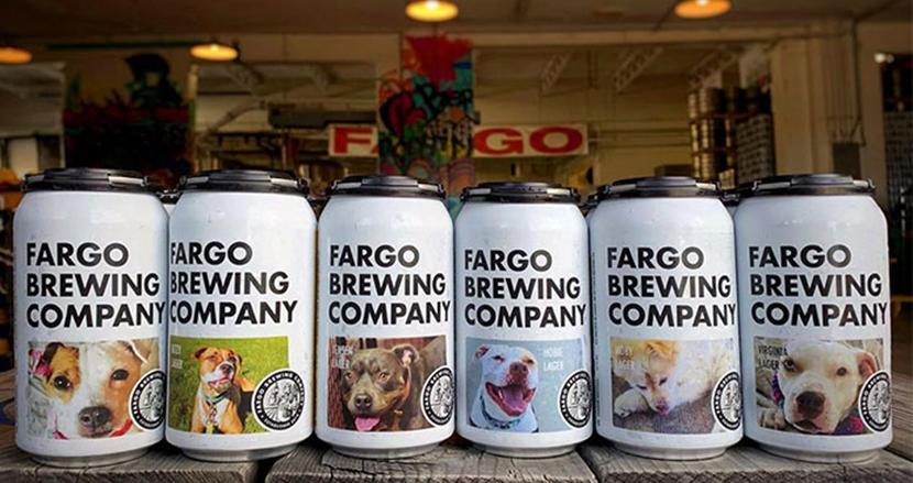 里親が見つかるよう、保護犬をビール缶のラベルに。米国のビール会社の取り組みが話題に