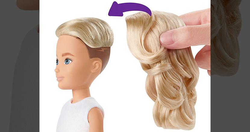 性別を自由に変更できるジェンダーフリーな着せかえ人形が発売。バービー人形の玩具メーカーが手掛ける