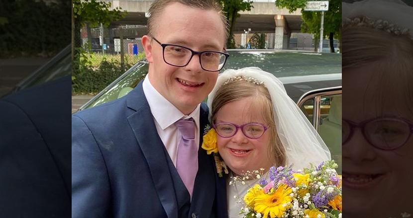 ダウン症のカップルがオンライン結婚式を開催、2万人以上が祝福。ロックダウンを乗り越え実現