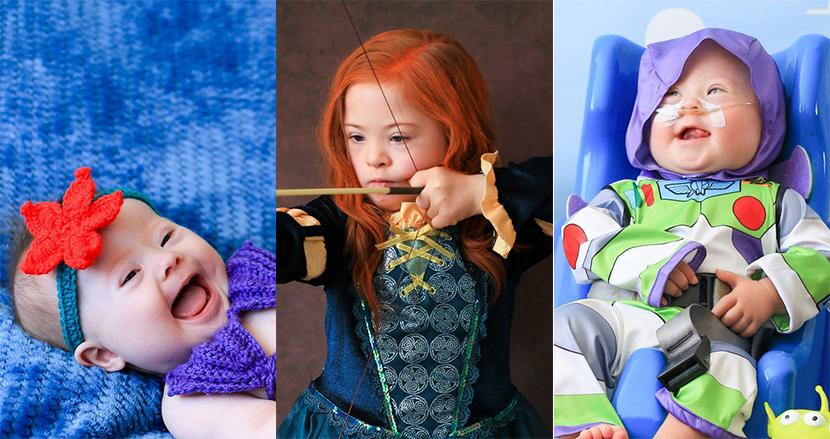 ダウン症の子どもたちがディズニーキャラに大変身!夢と魔法に包まれた啓蒙キャンペーンがSNS上で話題に