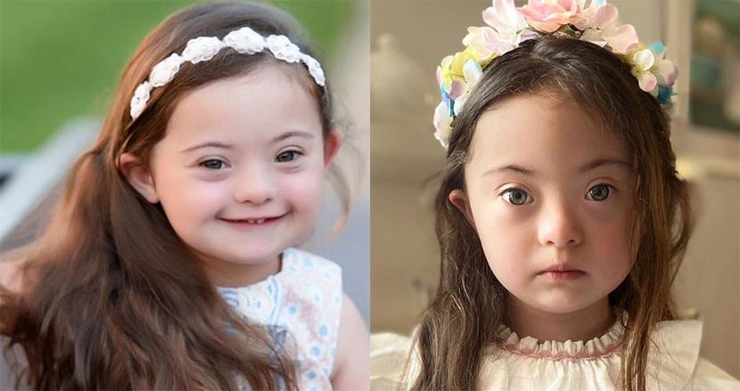 ダウン症の4歳の女の子が、ファッションショーのランウェイに!天使のような笑顔に、世界が釘付け