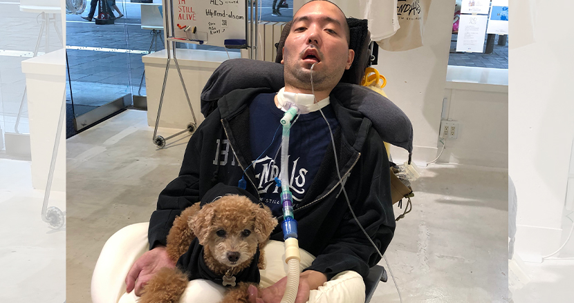 "ALS患者になった広告マンの「動かない仕事」。支援団体「END ALS」と""ヒロ""が夢見る難病の無い世界"