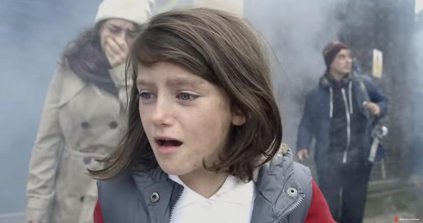 少女の幸せな日常が崩壊。第三次世界大戦リスクを受けて、シリア内戦をイギリスに置き換えた啓蒙動画が注目