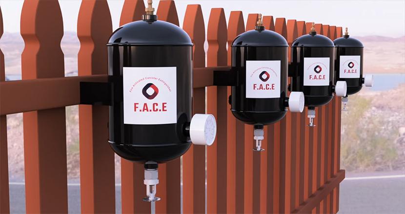 山火事から自宅を守れ。米高校生が画期的な消火器「F.A.C.E.」を発明。自動で起動し難燃剤を散布