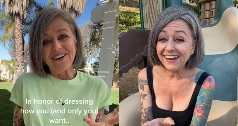 「オシャレするには年を取りすぎ」56歳の女性インフルエンサーがアンチコメントに秀逸な返答!