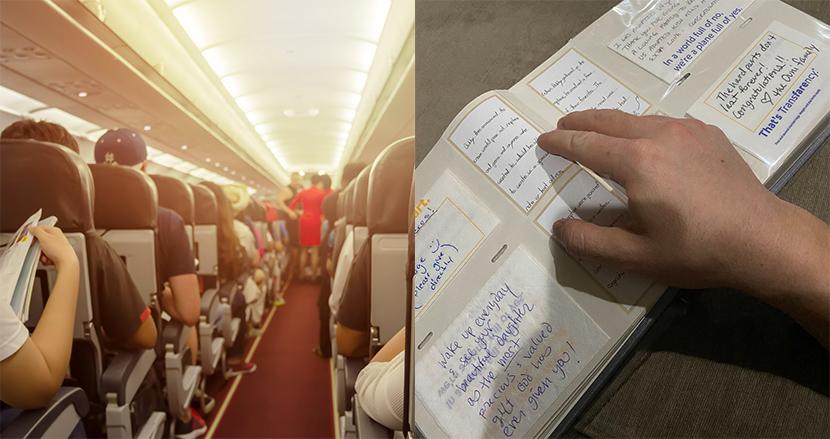 生後8日の養子を引き取って、初めてのフライト。客室乗務員の粋な機内アナウンスに感動
