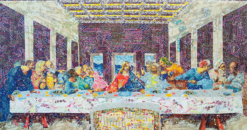 「最後の晩餐」や「モナ・リザ」も!マスキングテープで世界の名画を再現する船原七紗氏|なにげに世界で有名な日本人