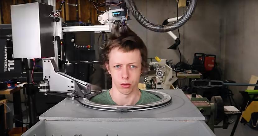 ついに無人床屋が出現?コロナ禍に発表された「散髪ロボット」が、感染抑止の救世主だとYouTubeで大反響!