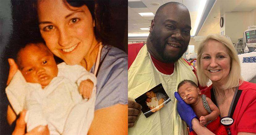 早産で生まれた息子の看護師が、33年前に父親も担当していた!? ある親子に起きた美しい偶然に感動