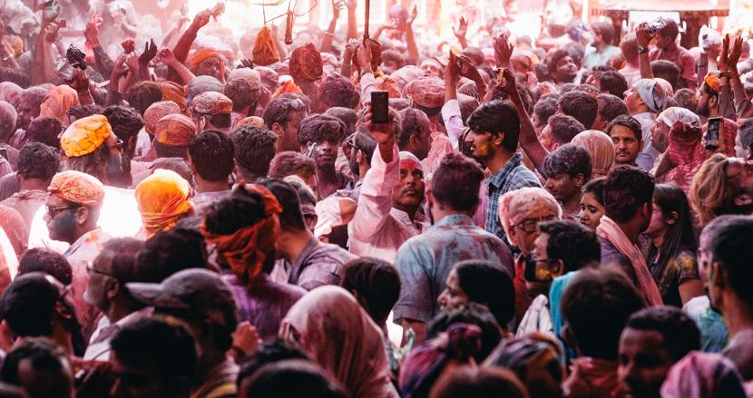 インドの奇祭ホーリーをマトゥラーにて【連載】世界の都市をパチリ (16)