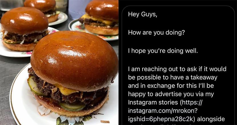 「宣伝するから無料で食事を」図々しいインフルエンサーを、警察署に案内したレストランに称賛の嵐
