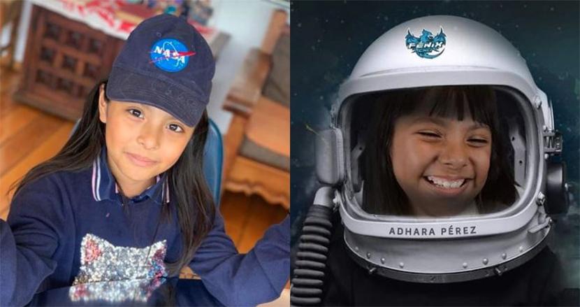 アインシュタインよりIQの高い9歳の少女、アスペルガーを乗り越え宇宙飛行士を目指す