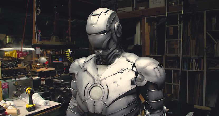 空中飛行ができる『アイアンマン』スーツがついに実現! チタン製でジェットエンジン搭載の防弾仕様