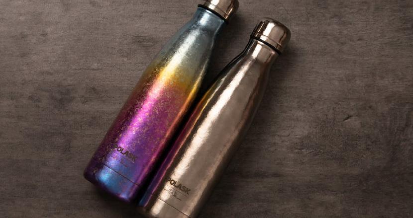 錆びない、凹まない、臭わない。死ぬまで使える純チタン製ボトル「POLASK」がステンレス製よりも圧倒的に優れている理由