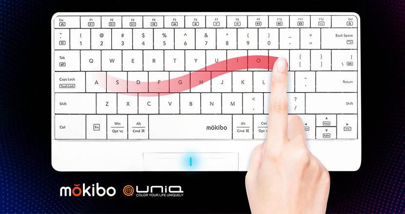 タブレットに使うキーボードの最適解は多分コレ。キーの表面がトラックパッドになった「mokibo」に英語配列・ホワイトカラーが登場