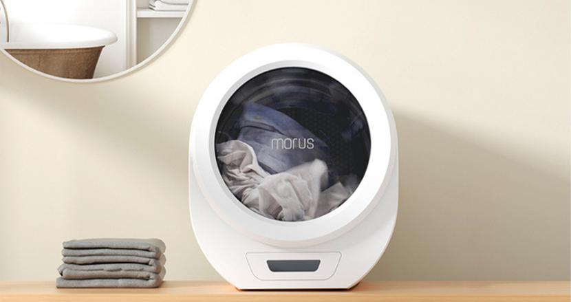 世界3大デザイン賞2冠。どこでも設置できる電動小型衣類乾燥機「Morus Zero」で梅雨も楽しむ