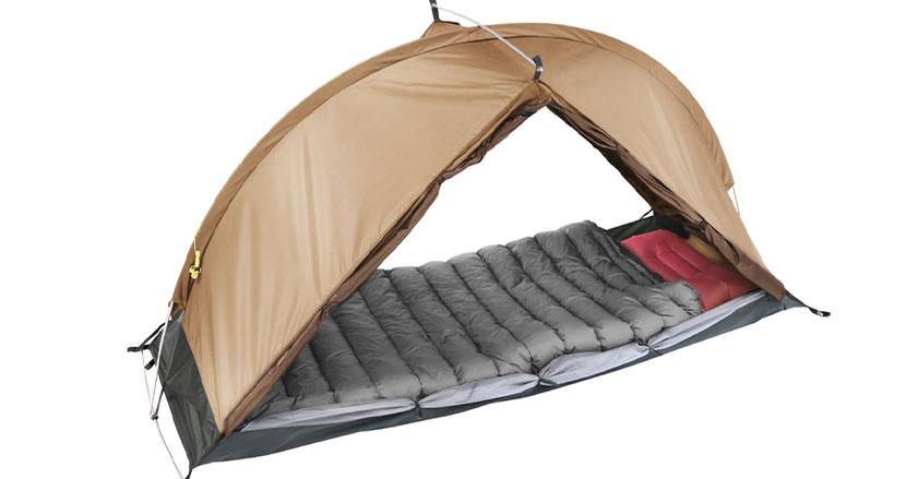 テント、寝袋、エアマットを1つにまとめたソロキャンの味方「RhinoWolf2.0」