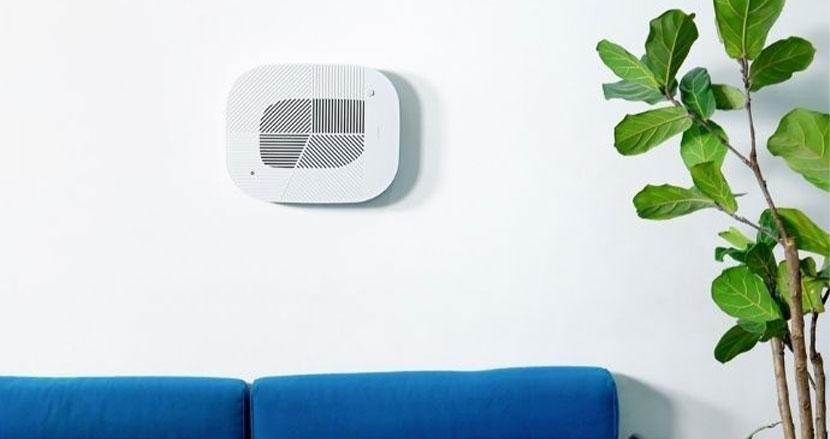 デザイン特化の空気清浄機「Löv」。壁掛けもできて便利だけど機能面はどうだろう?
