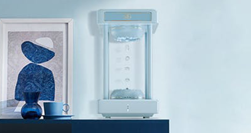 水が勝手に空中を昇っていく!?幻想的な加湿空気清浄機「Anti-Gravity2」