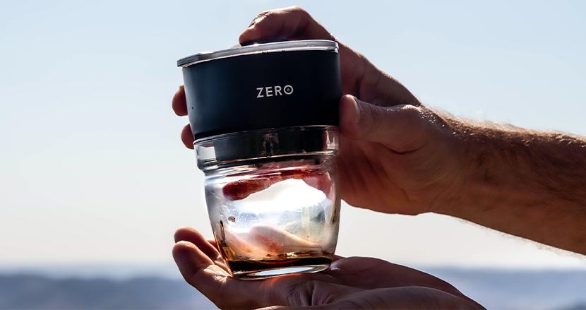 60秒で、ドリップでもエスプレッソでもない香り豊かなコーヒーを抽出する『Trinity Zero』。設計段階から環境にも配慮