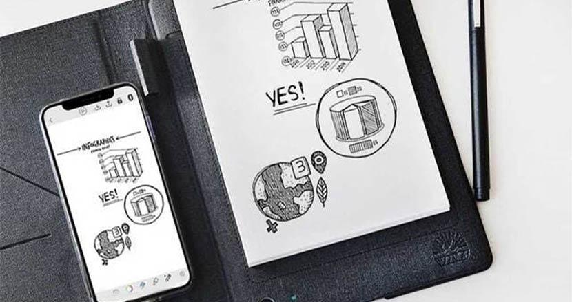 ZoomやOfficeにも対応した手書きノートが爆誕。紙に書いた情報をそのままデジタル化してくれるツバメノート監修の「T-Note」